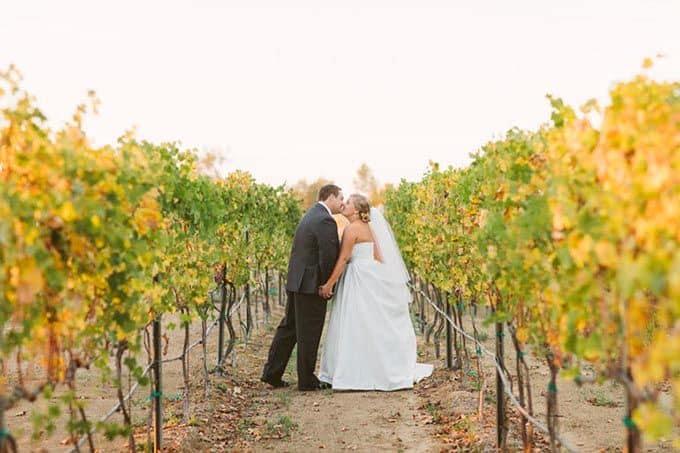 Casamento azul e verde na califórnia