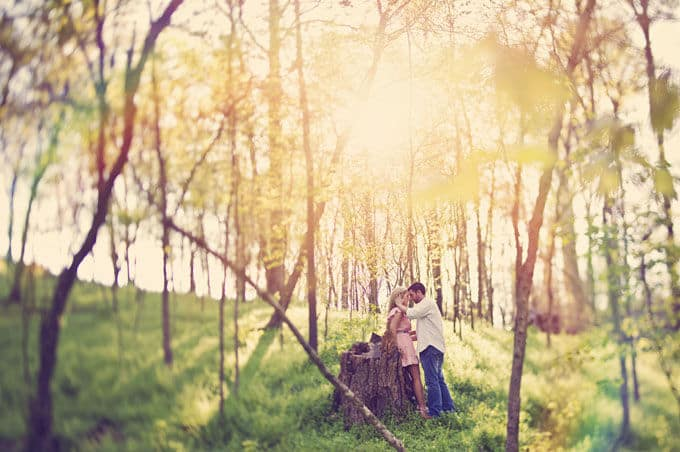 romantic-forest-engagement-Connection-Photography-07