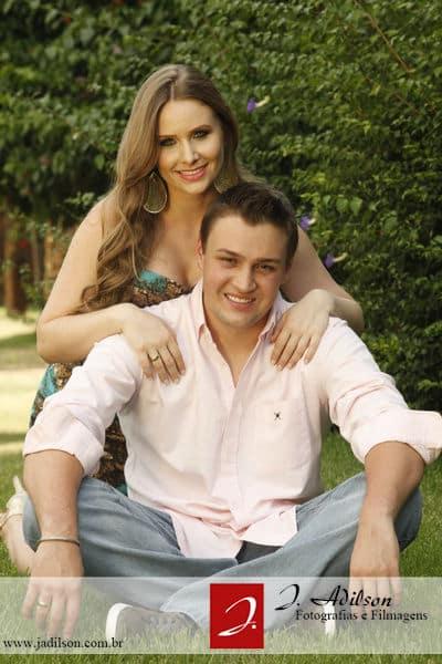 Nayara e Manuel