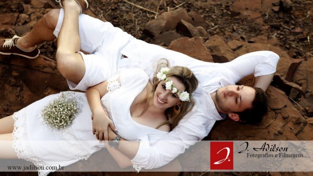 Maria Angélica e Deividy